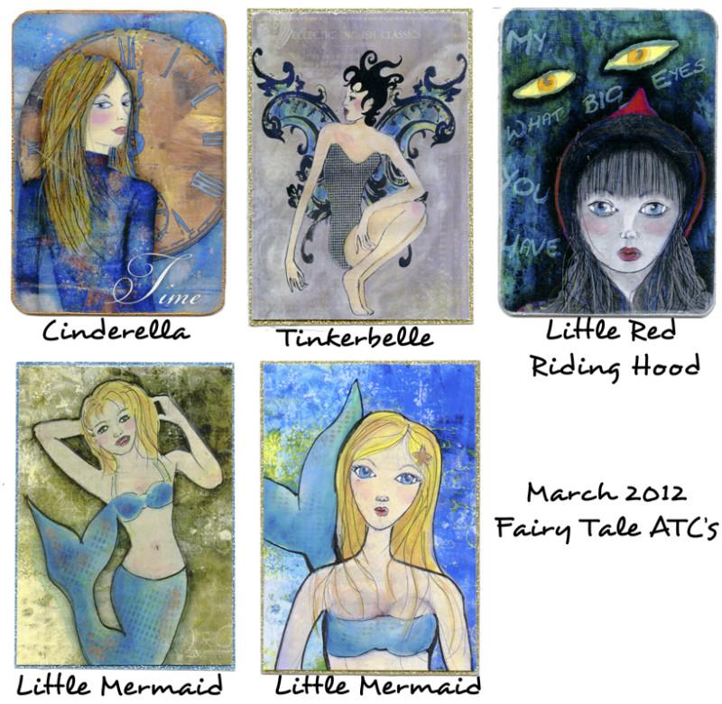 ATC Fairy Tale Theme