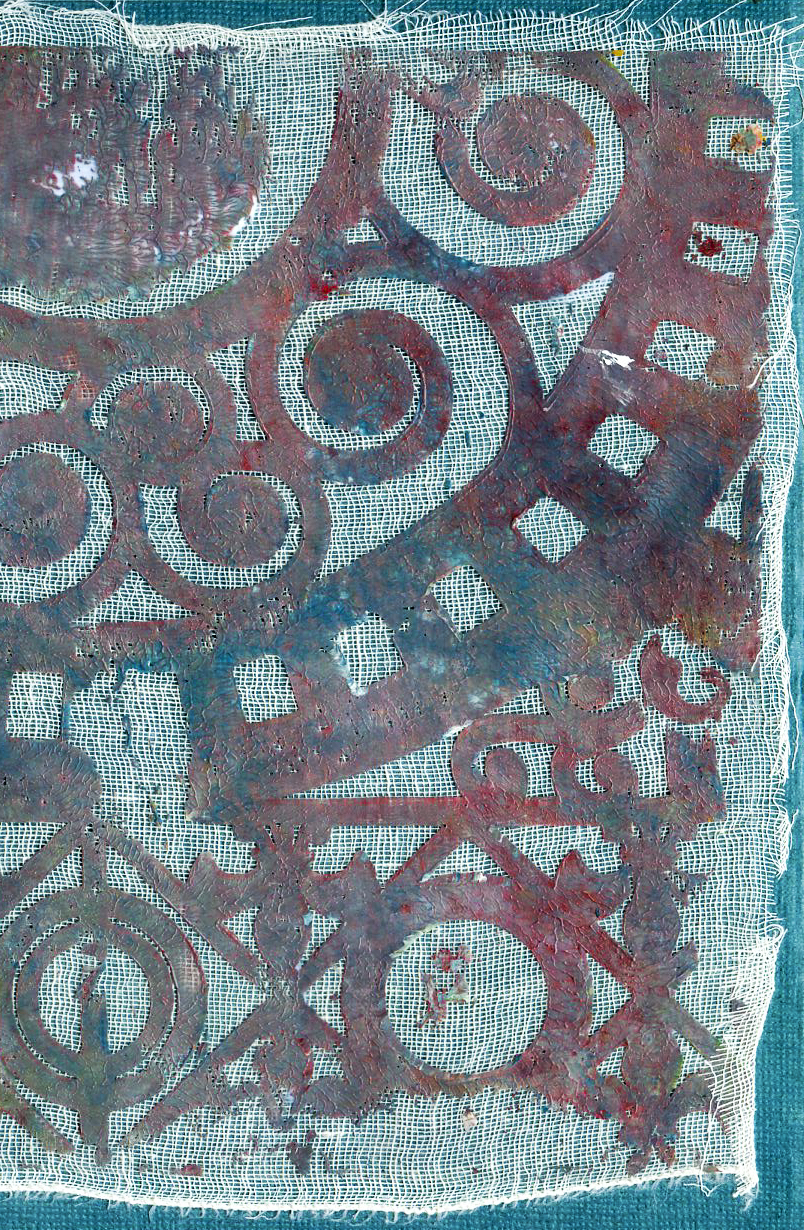 Gelli Arts Print on Contact Paper