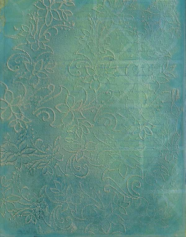 Gelli Arts Print for Photoshop Brush