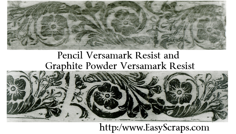 Pencil Versamark Resist