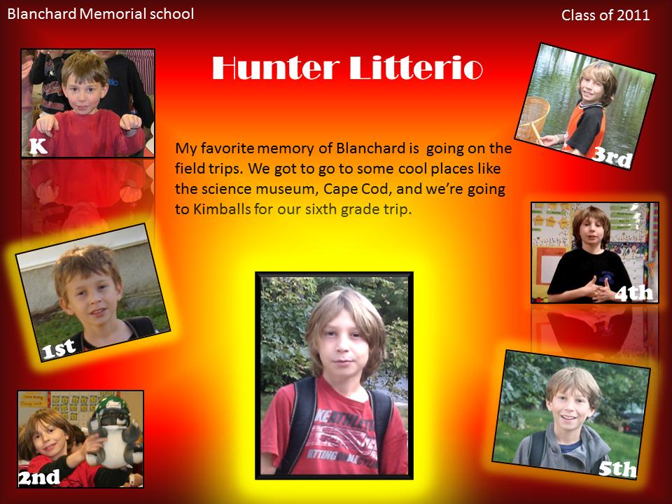 School Yearbook Scrapbook Page