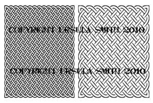 Celtic Knot A2 Digital Stamps