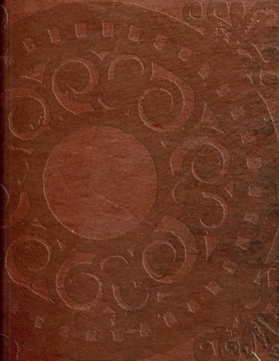 Embossed Leather Background Page