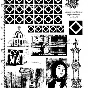 Memories of Greece Church Girl