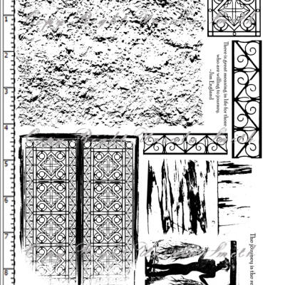 Memories of Greece Stucco Gates