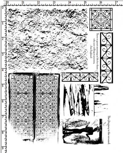Memories of Greece Stucco Gates