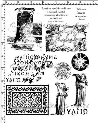Memories of Greece Writings Columns Statues