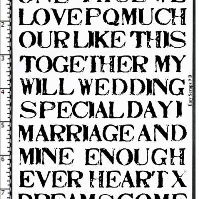 Wedding Anniversary Words