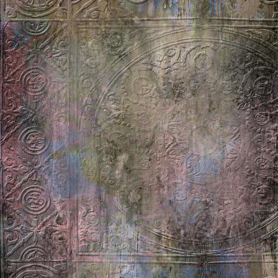 Embossed Rosette Background