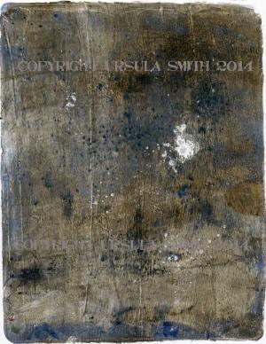 Gelli Art Charcoal Print 4