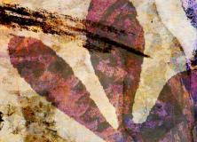 Gelli Arts Leaf Print