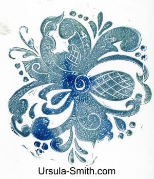Rubber Stamp Carving Rosemal Image