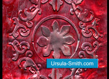 Embossed Metal Valentine's Day Card