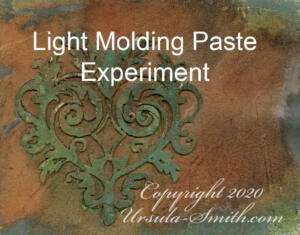 Yupo Light Molding Paste Distress Inks