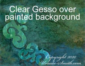 Yupo Clear Gesso Distress Inks 2