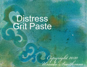 Yupo Grit Paste Distress Inks