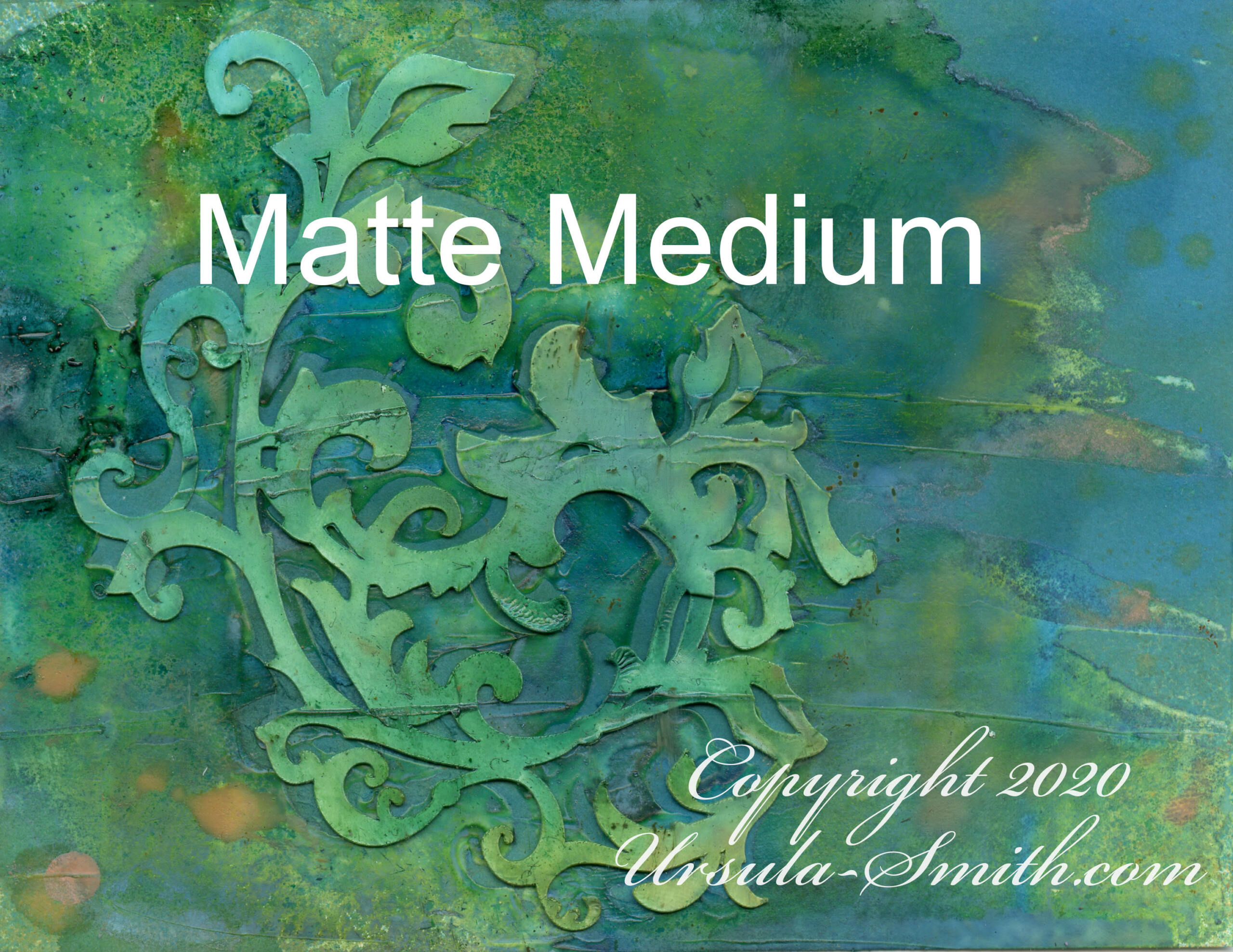 Yupo Matte Medium Distress Inks