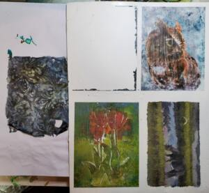 Printing with InkAID on Tim Holtz Grit Paste and Acrylic Mediums.jpg