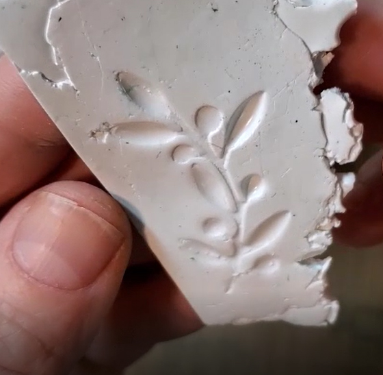 Resin Impression in Clay