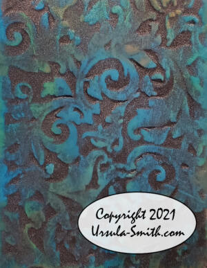 3D printed Embossing Plate Distress Oxide 2