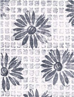 Using Multiple Rubber Stamps as a Background
